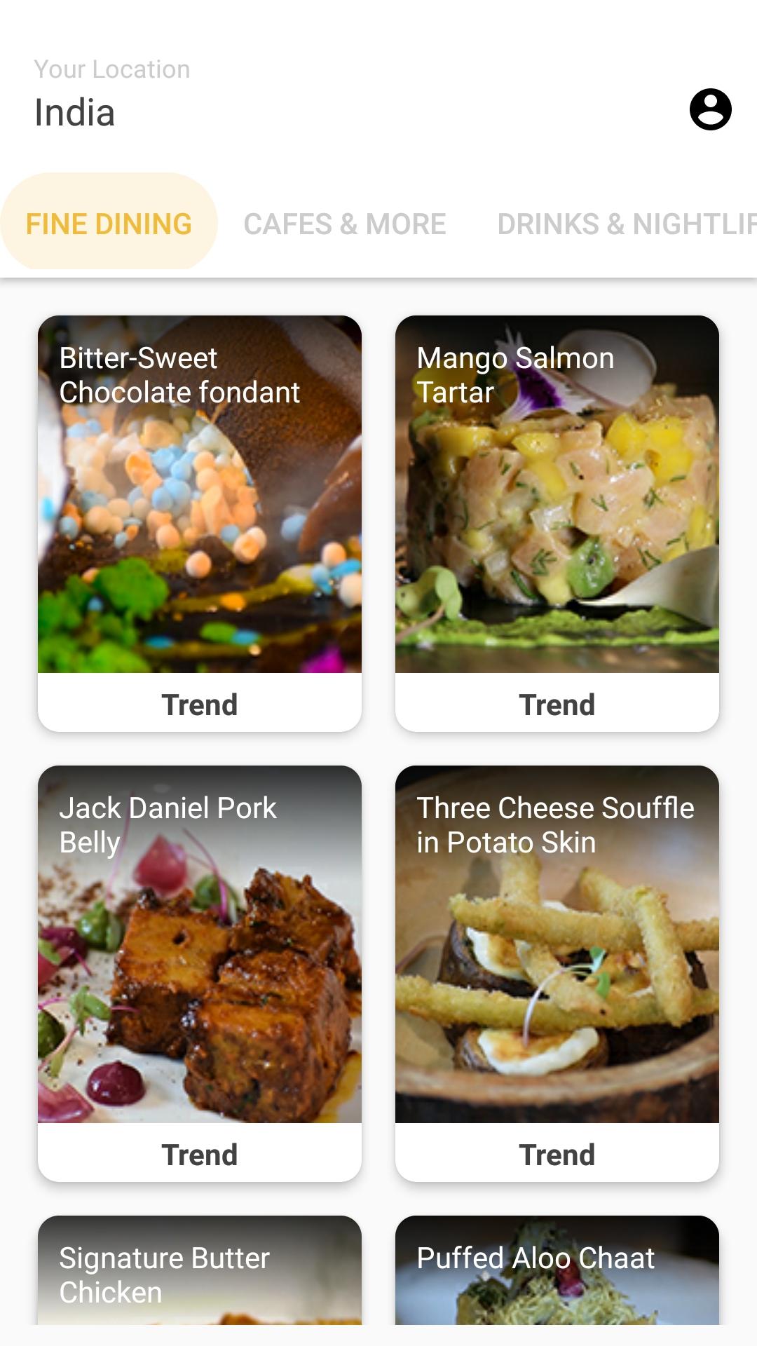 Binge : A food Discovery Platform