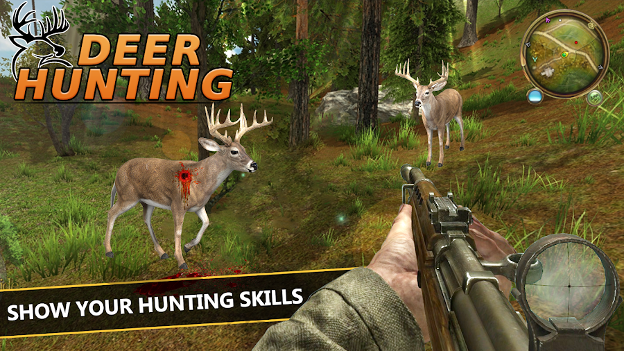 Deer Hunting 2018 - Wild Sniper Shooting 3D