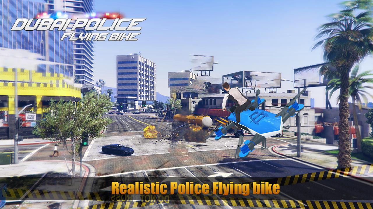 Dubai Police Flying Bike Vs Underworld Mafia