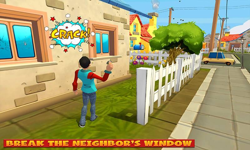 Evil Neighbor Boy Party Destruction Game