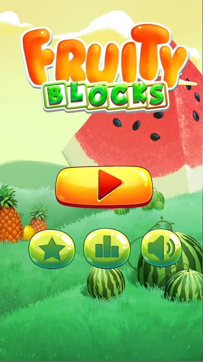 Fruity Block: Drop & Match Blocks Puzzler