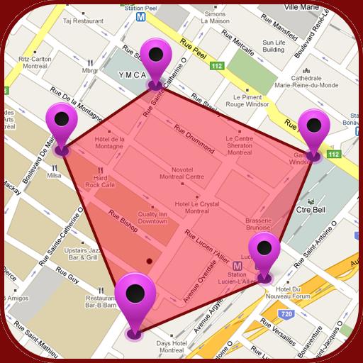 GPS Land Measurement Area Calculator:: Perimeter