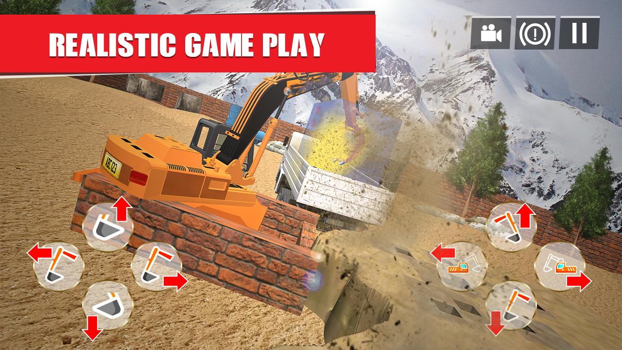 Heavy Excavator: City Construction Simulator