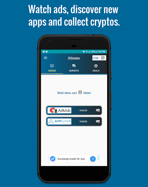 ICOminter | Earn Free Cryptocurrency
