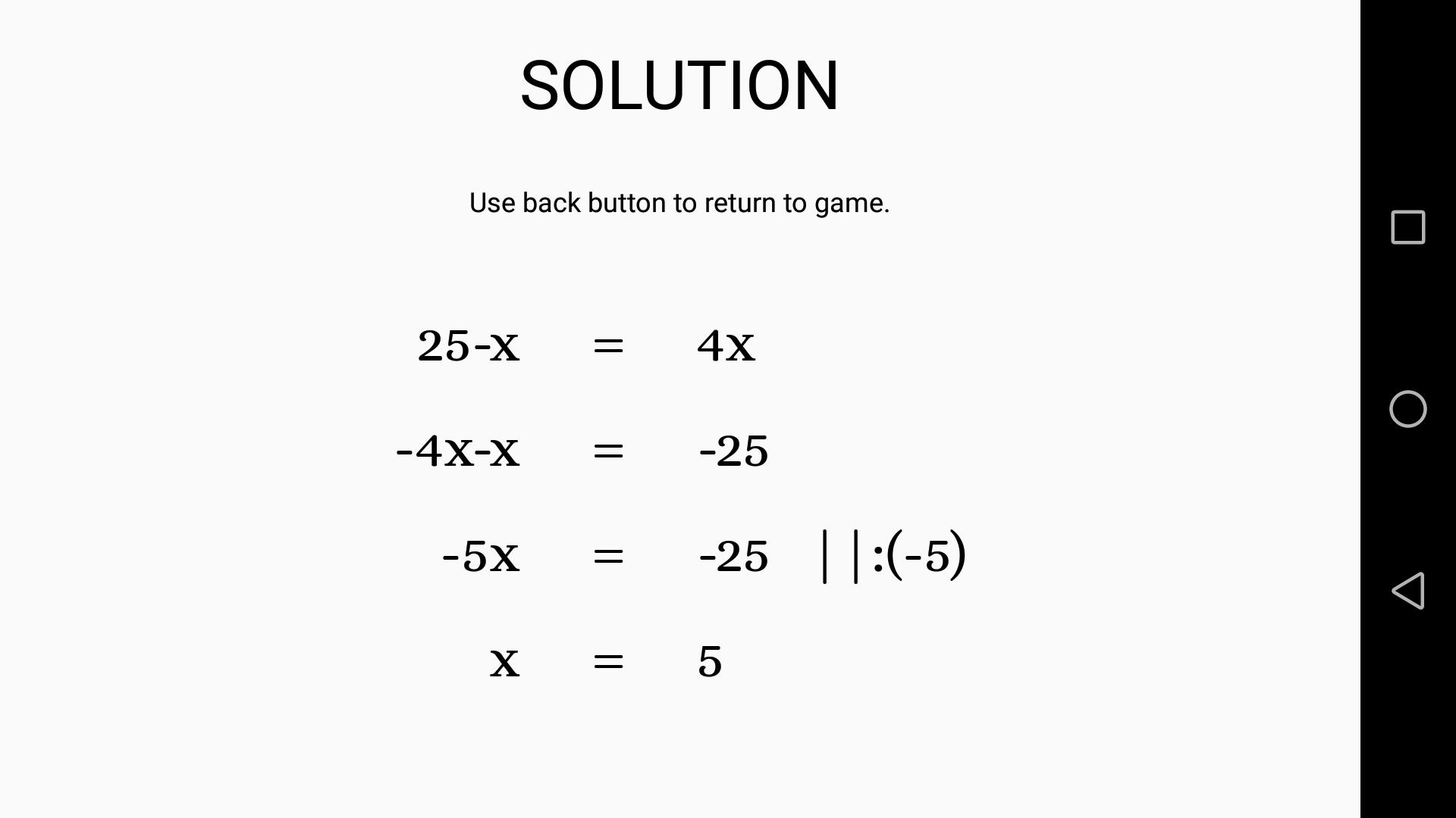 Math: Find X