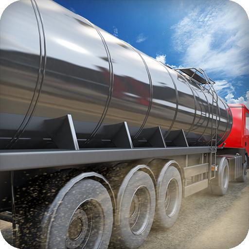 Oil Tanker Truck Transporter 18
