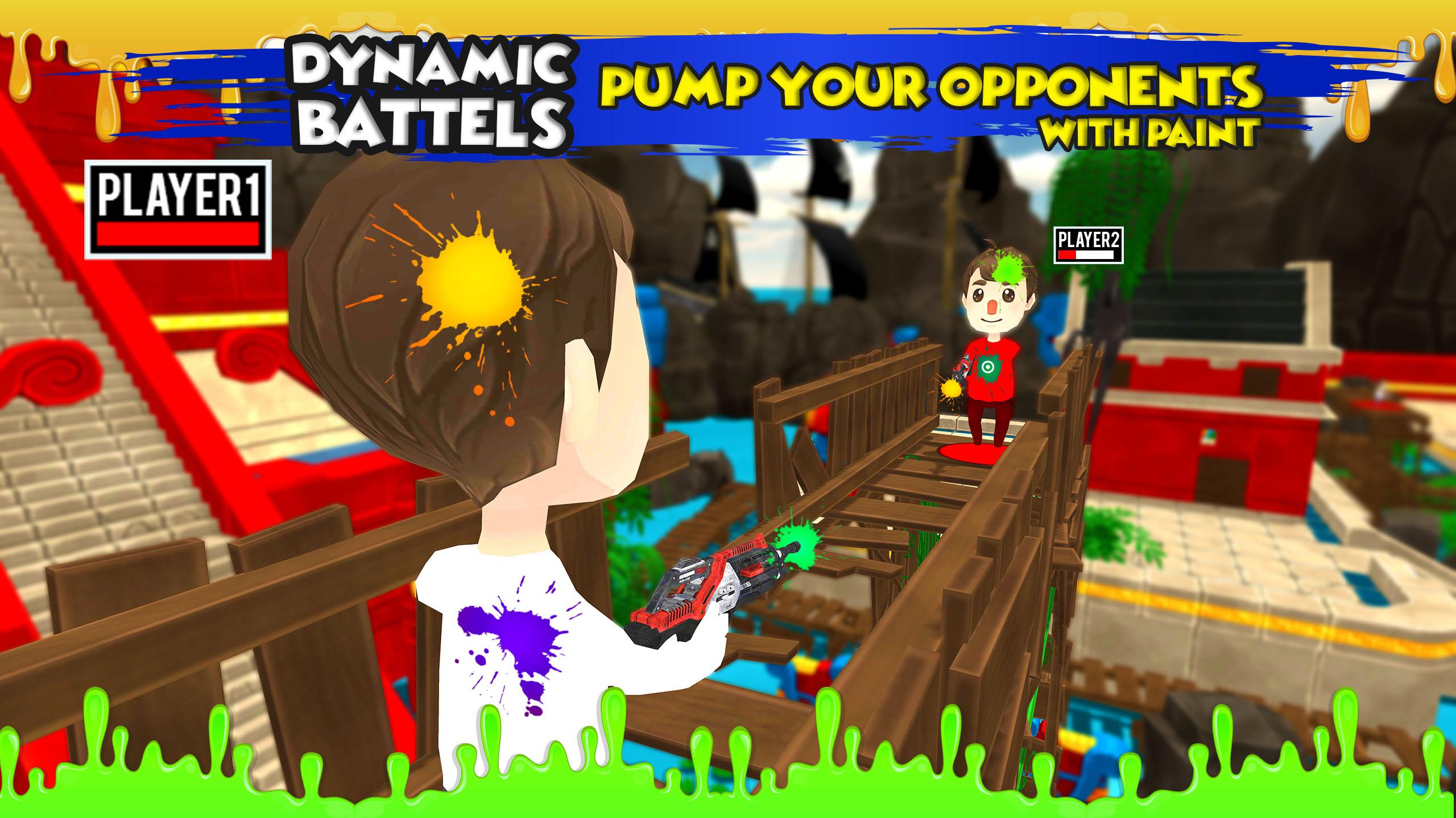 Paintball Shooting - Multiplayer