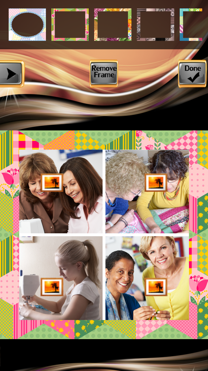 Patchwork Photo Collage