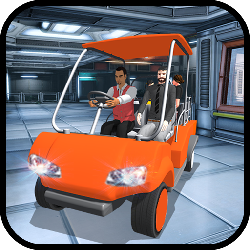Shopping Complex Taxi Cart Simulator