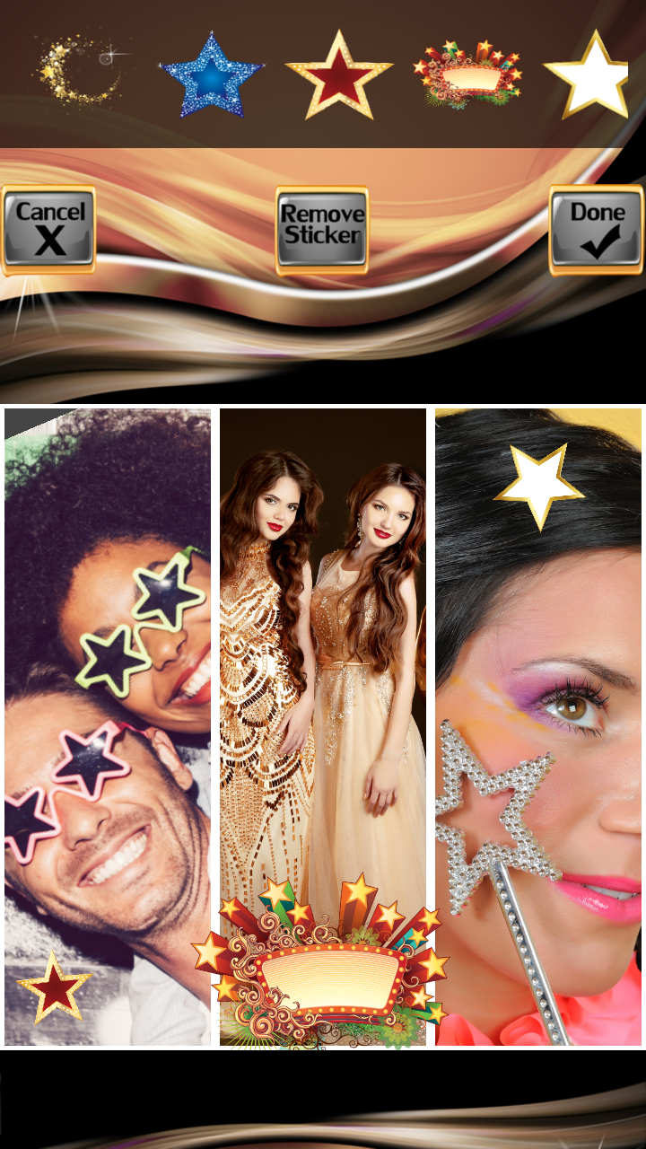 Stars Photo Collage Editor