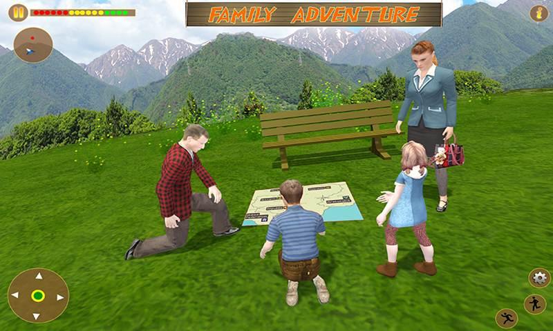 Virtual Pet Cat Happy Family Simulator
