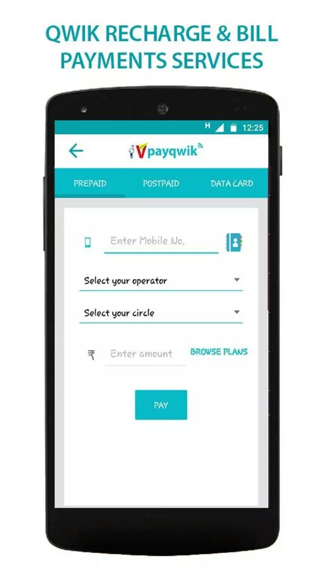 VPayQwik - Mobile Wallet