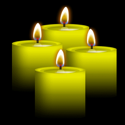 Yellow Candles Live Wallpaper