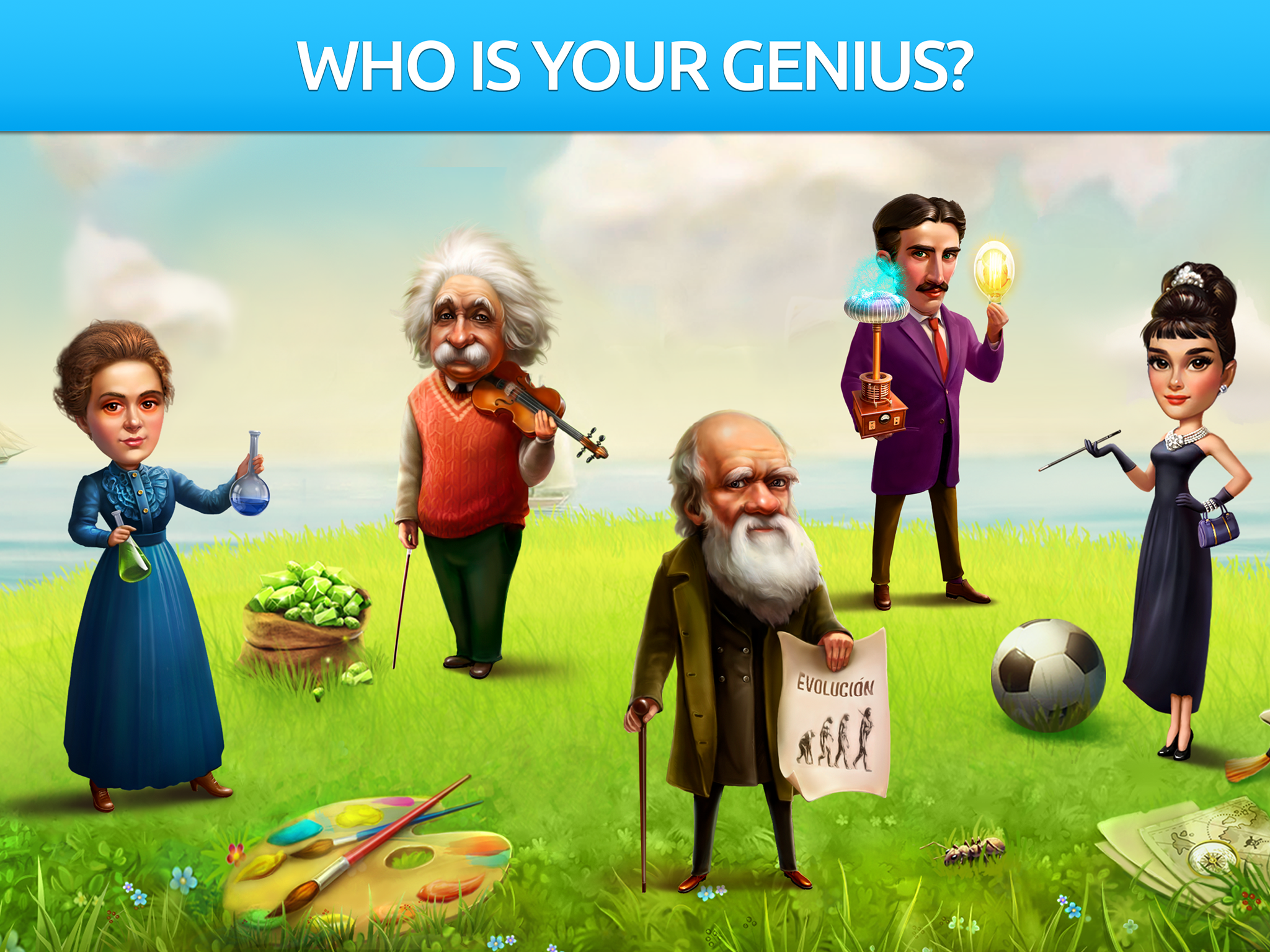 Battle of Geniuses: Quiz Game