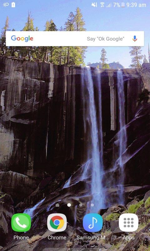 Black Mountain Waterfall LWP
