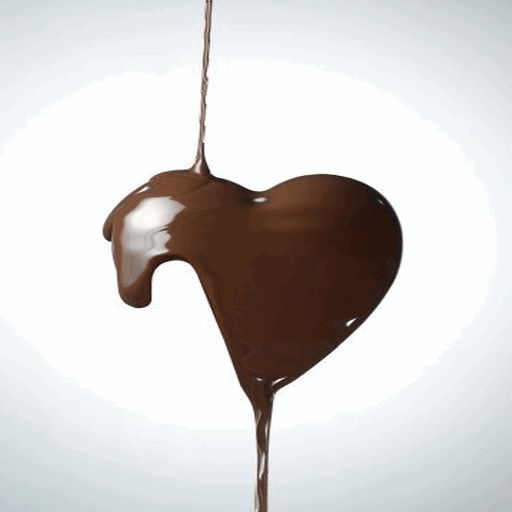 Chocolaty Heart Live Wallpaper