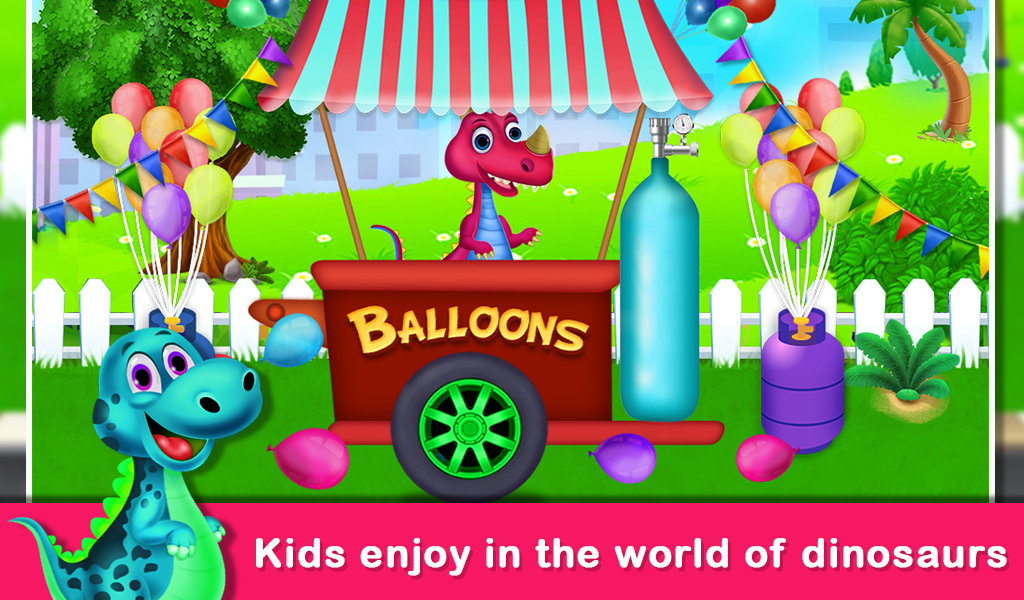 Dinosaur World Educational fun Games For Kids