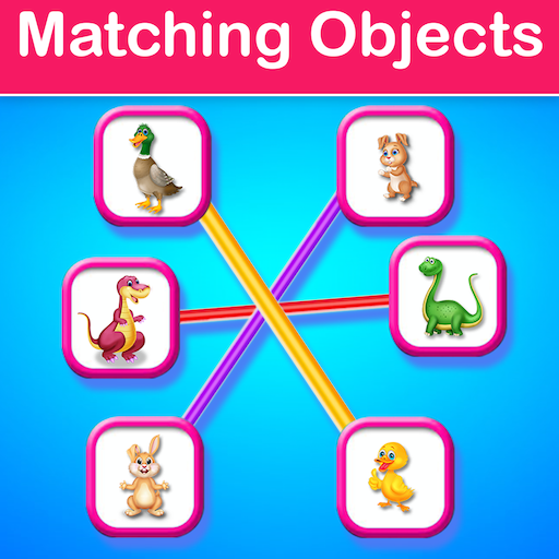 Educational Matching the Objects - Memory Game