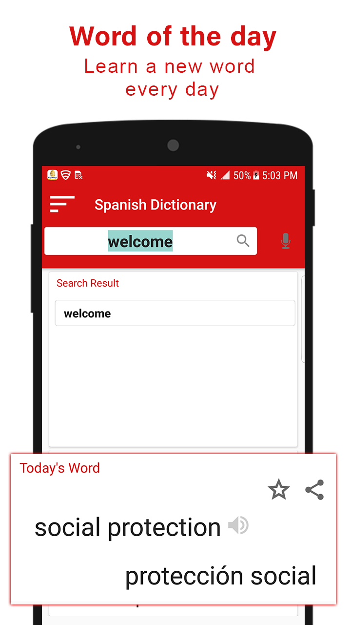 English Spanish Dictionary 2018