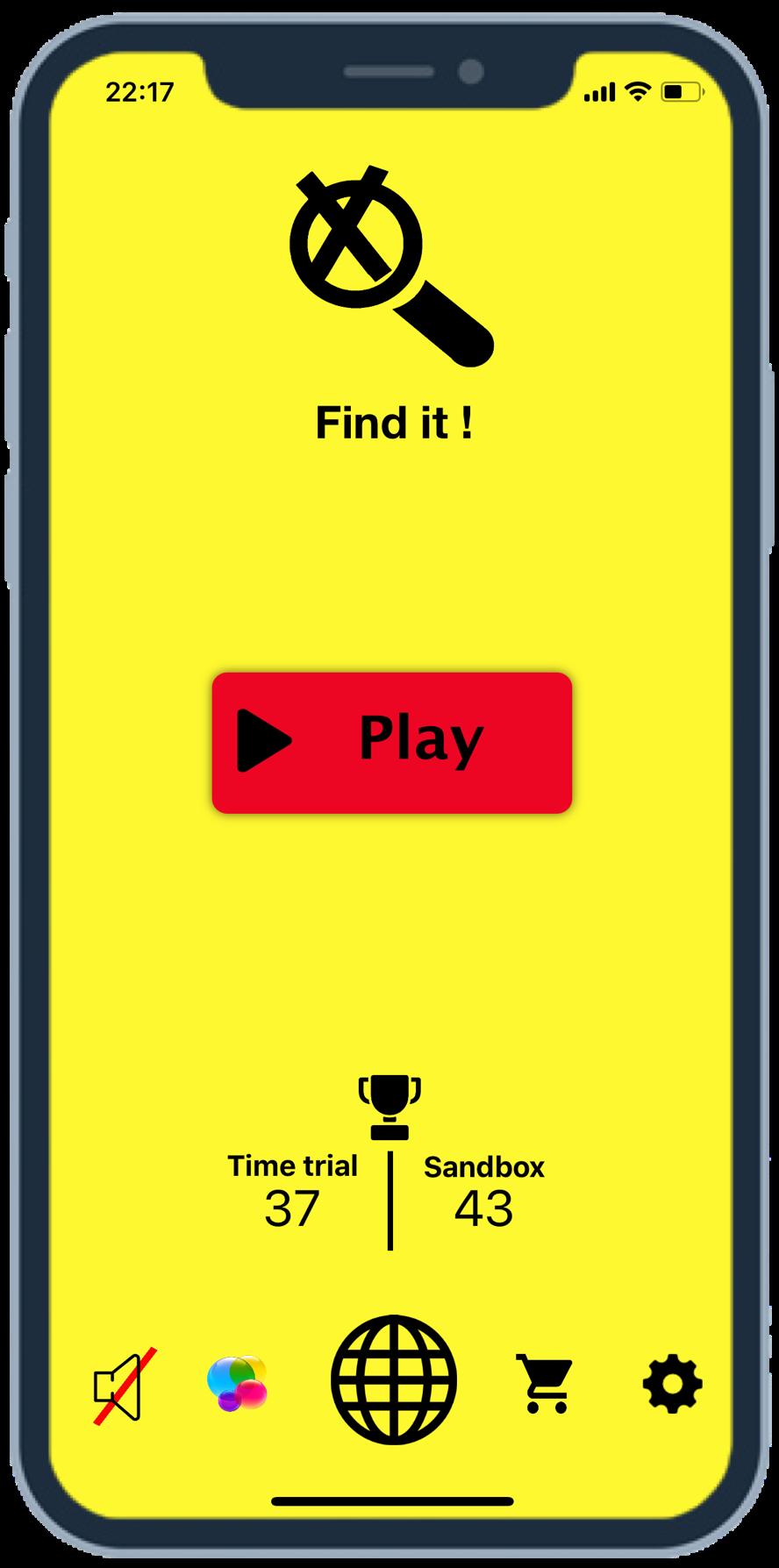 Find it! - A brain challenge