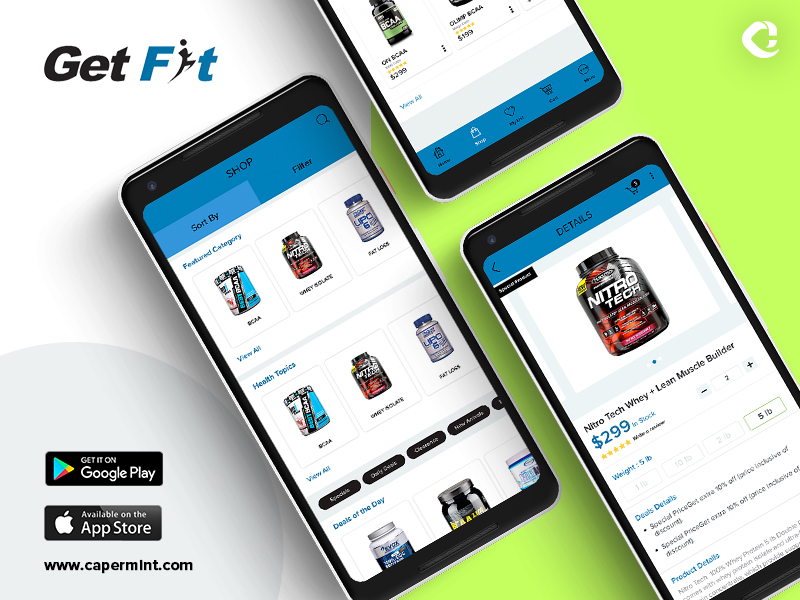 Get Fit Store App