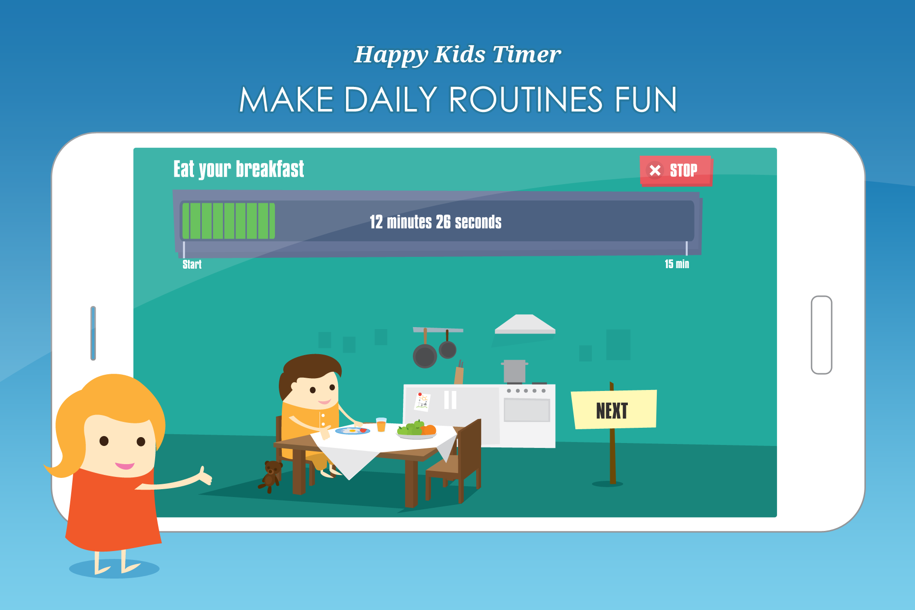 Happy Kids Timer Morning