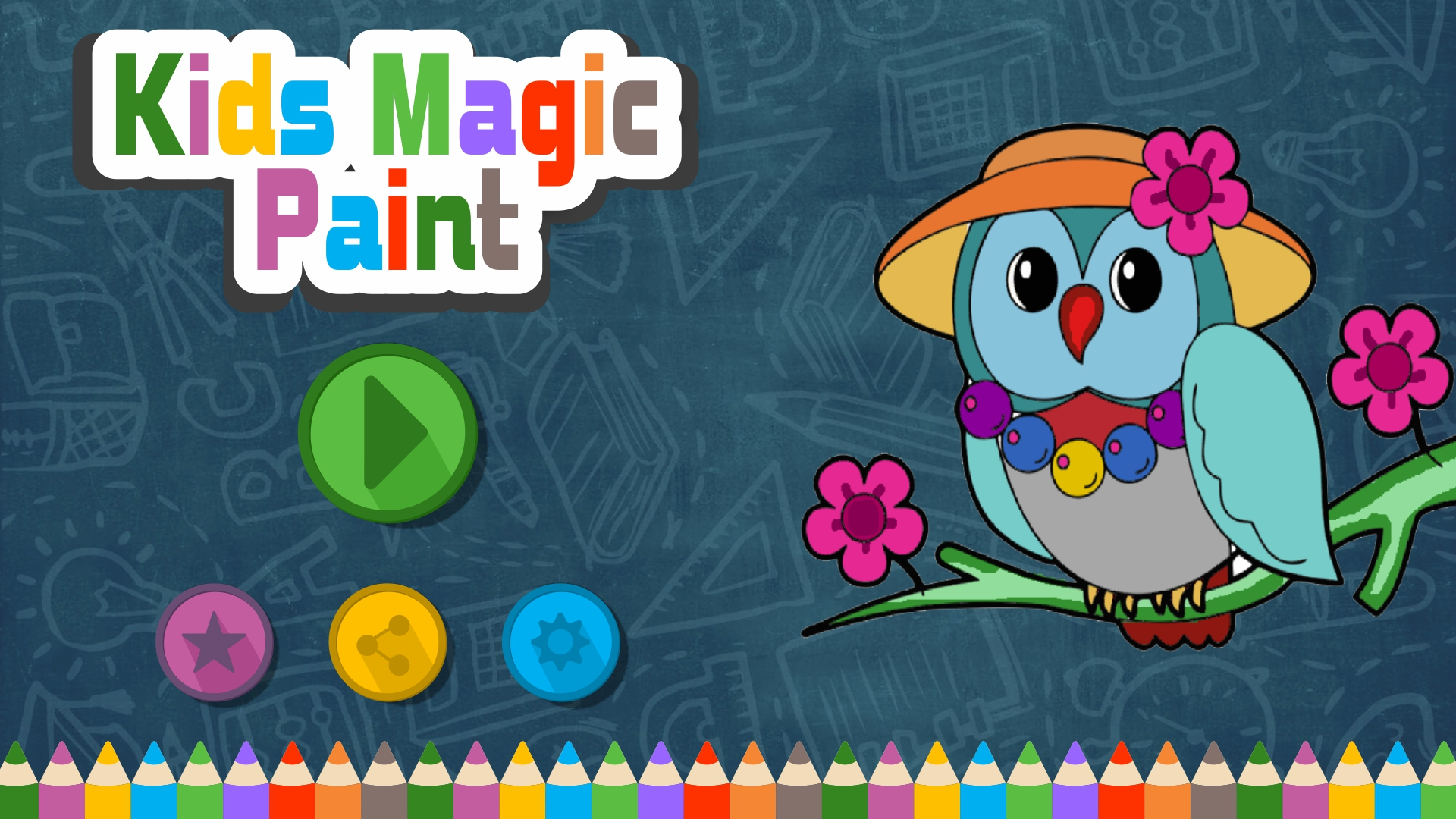 Kids Magic Paint