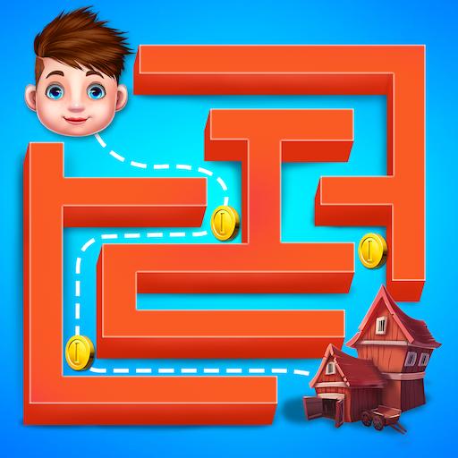 Kids Maze Puzzle - Maze Challenge Game