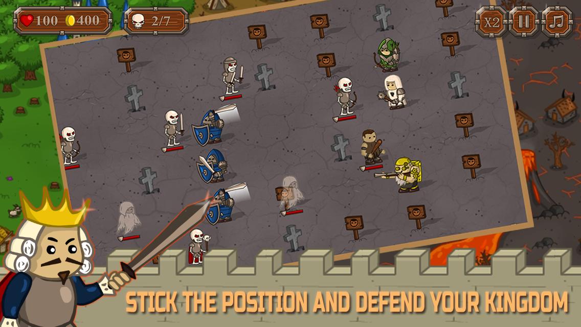 Kingdom Guardians - Free Offline TD Game
