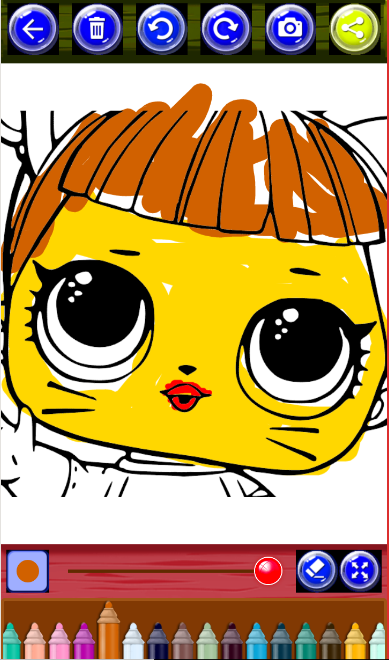 LOL Doll Coloring Pages Book