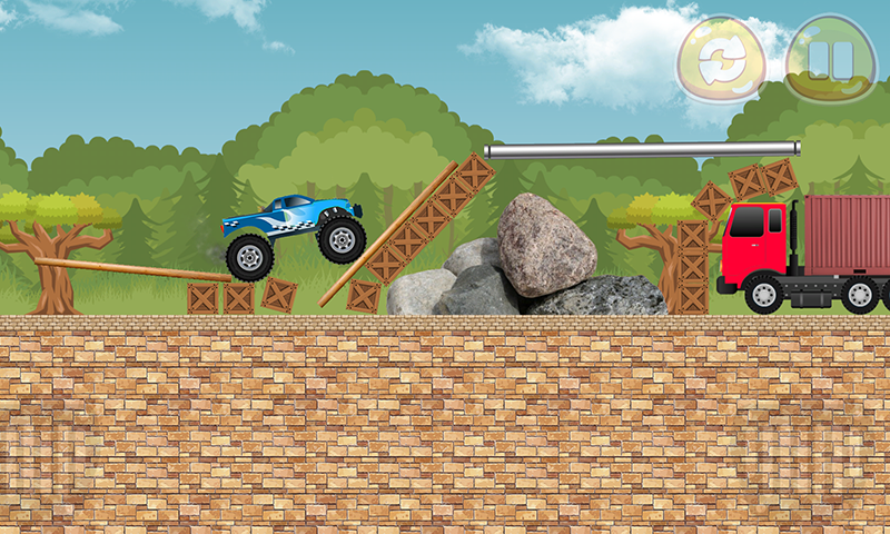 Monster Truck Extreme Stunts