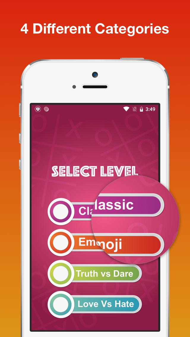 Tic Tac Toe Ultimate - Classic, Emoji, Truth Dare
