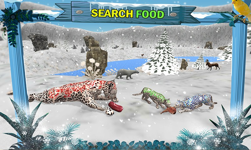 Ultimate Snow Leopard Family Jungle Survival