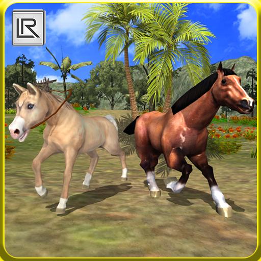 Virtual Horse Family Jungle Life Simulator