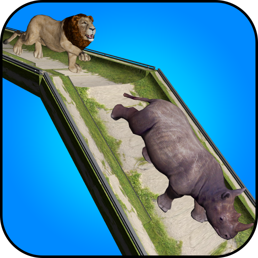 Wild Animal: Extreme Ramp Racing