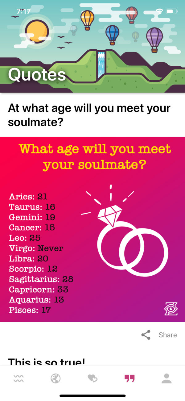 Zodiac by Relationship Rules