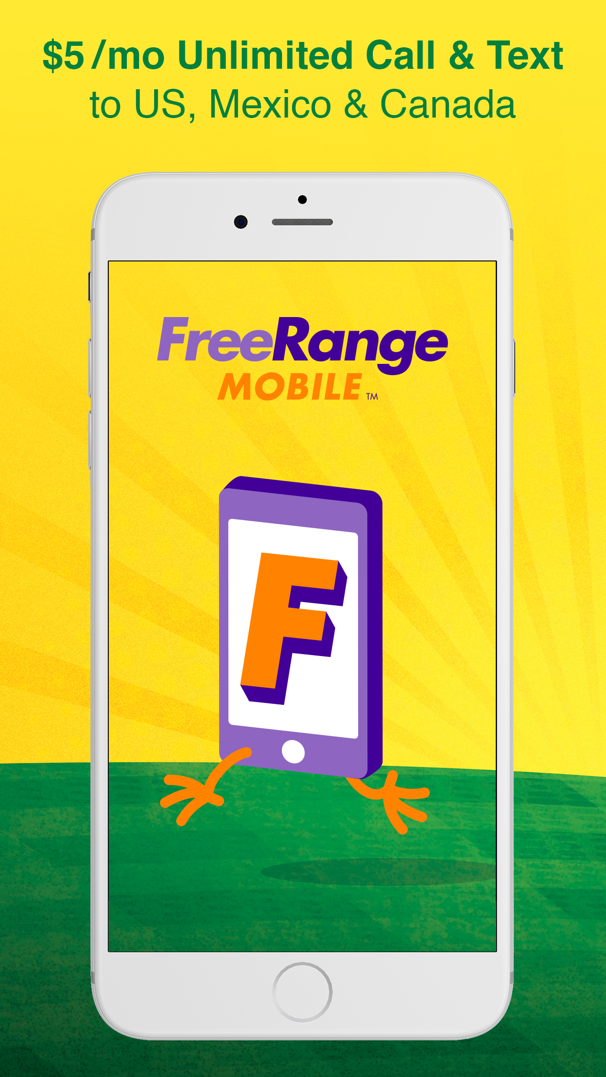 FreeRange Mobile: Call & Text