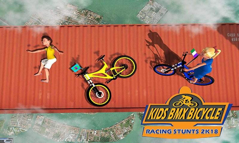 Kids BMX Bicycle Racing Stunts 2k18