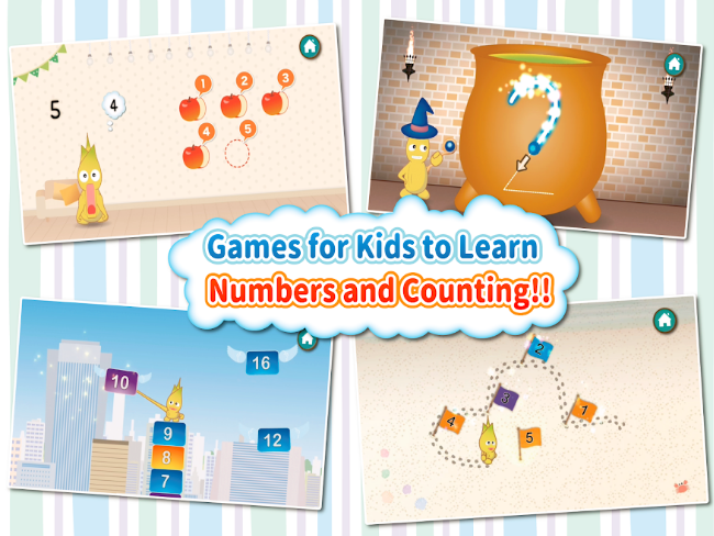 Kids Counting Games for Toddlers