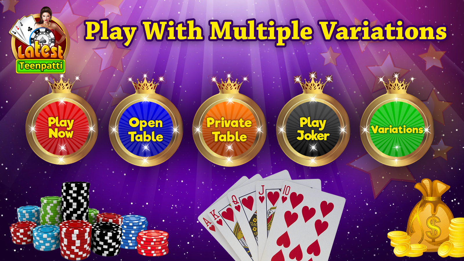 Latest Teen Patti-Indian Poker Game