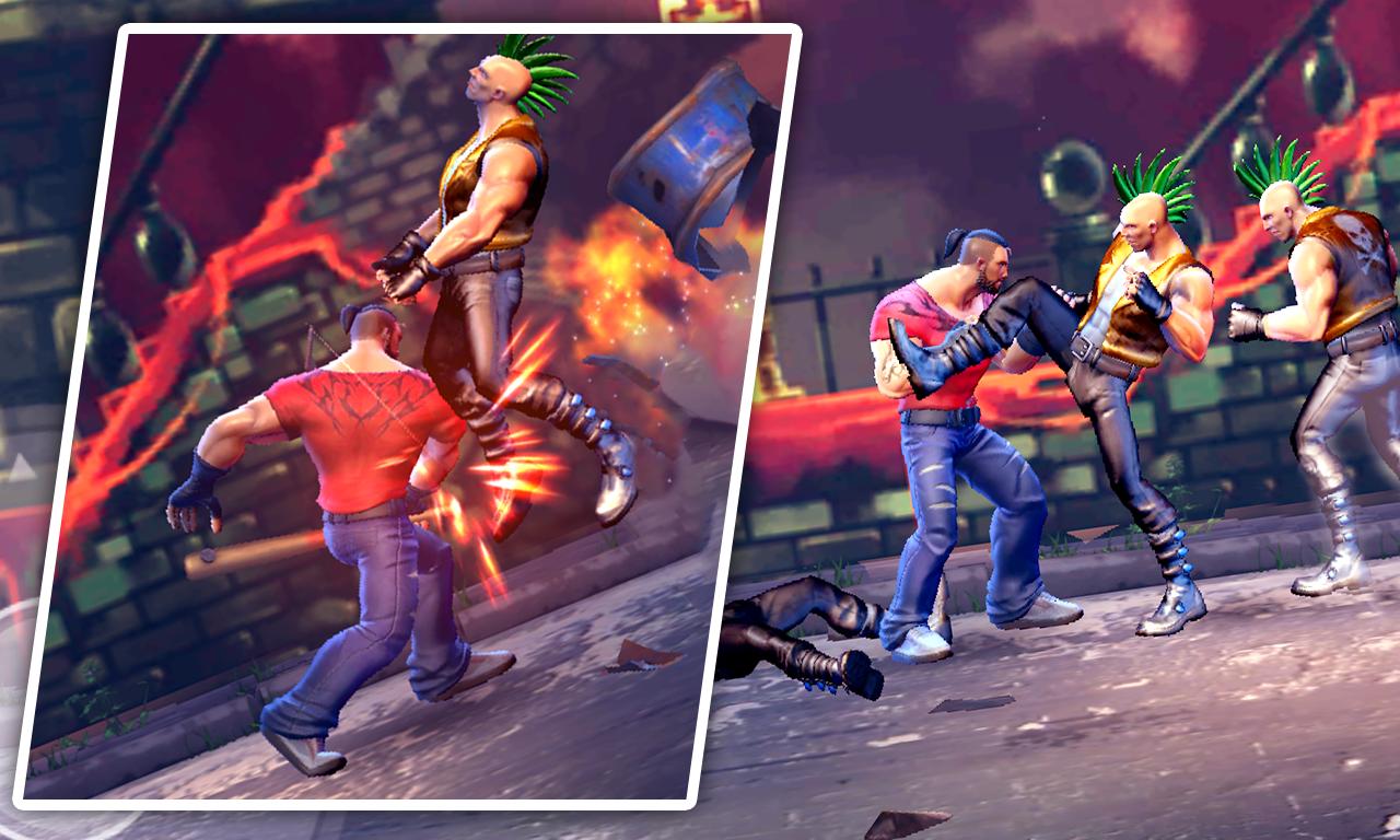 Legend Superhero Street Fighting: K.O Villain