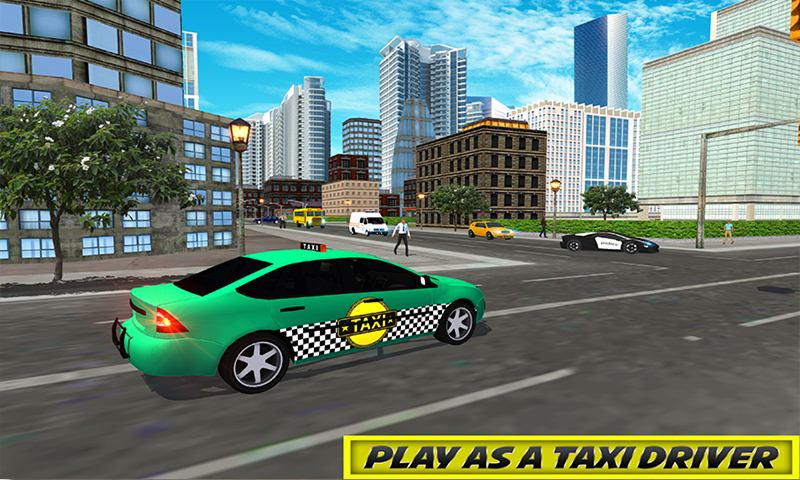 Luxury Taxi Driving 3D Game