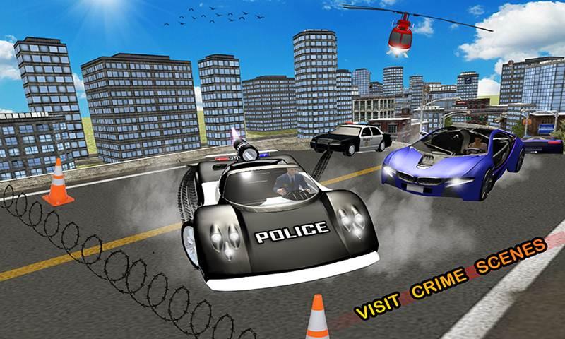 Police Hot Chase Car Simulator