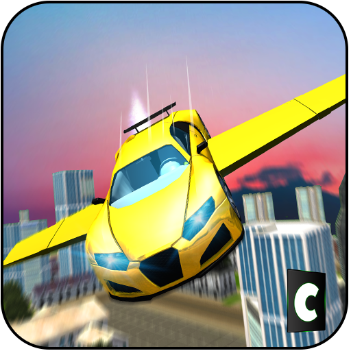 Real Flying Car Driving Fun 3D