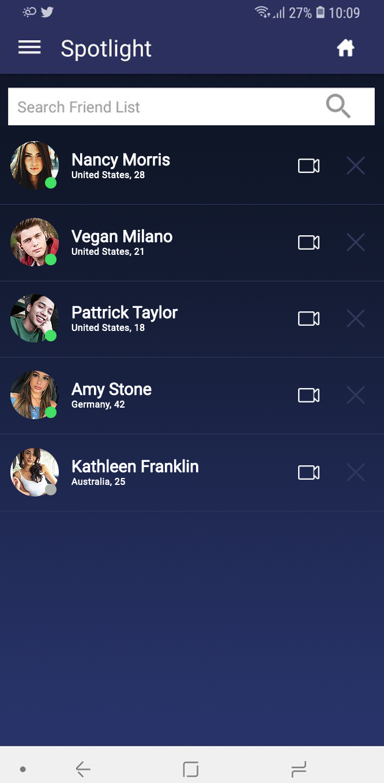Spotlight - Random Video/Text Chat, Live Meet App
