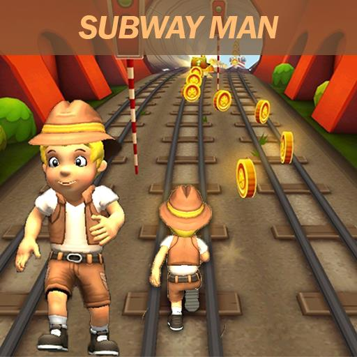 Subway Runner Man