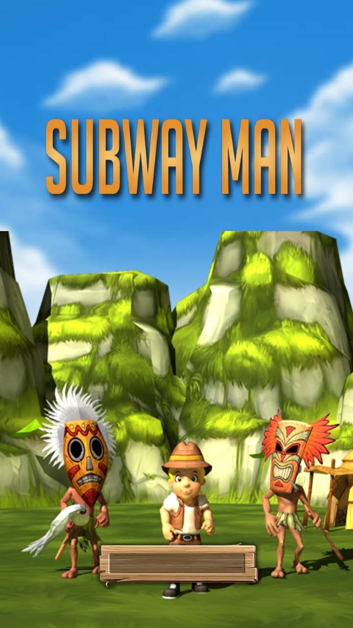 Subway Runner Man