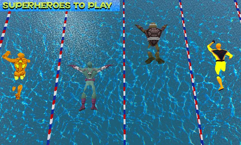 Super Hero World Swimming Tournament