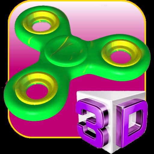 Swipe Spinner - Fidget Spinner 3D