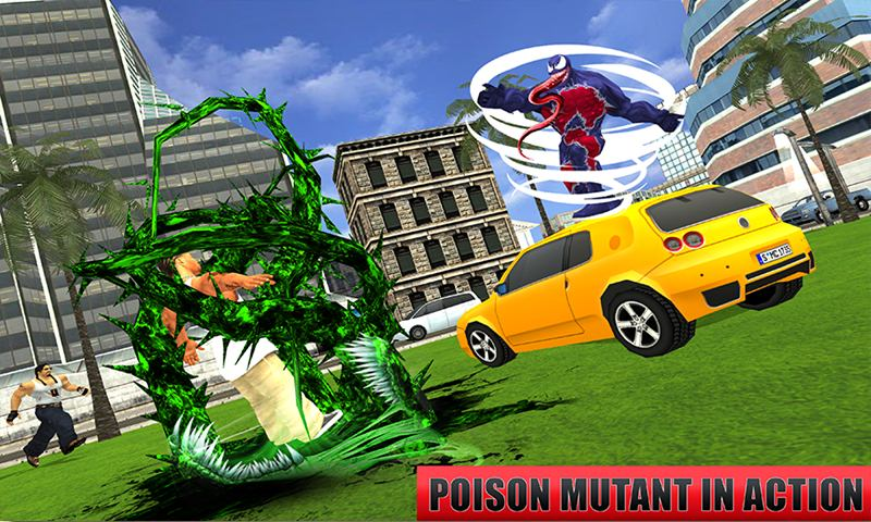 Ultimate Black Mutant Spider Poison Hero